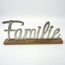 Deko-Schriftzug Familie