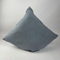 Kissen blau-grau