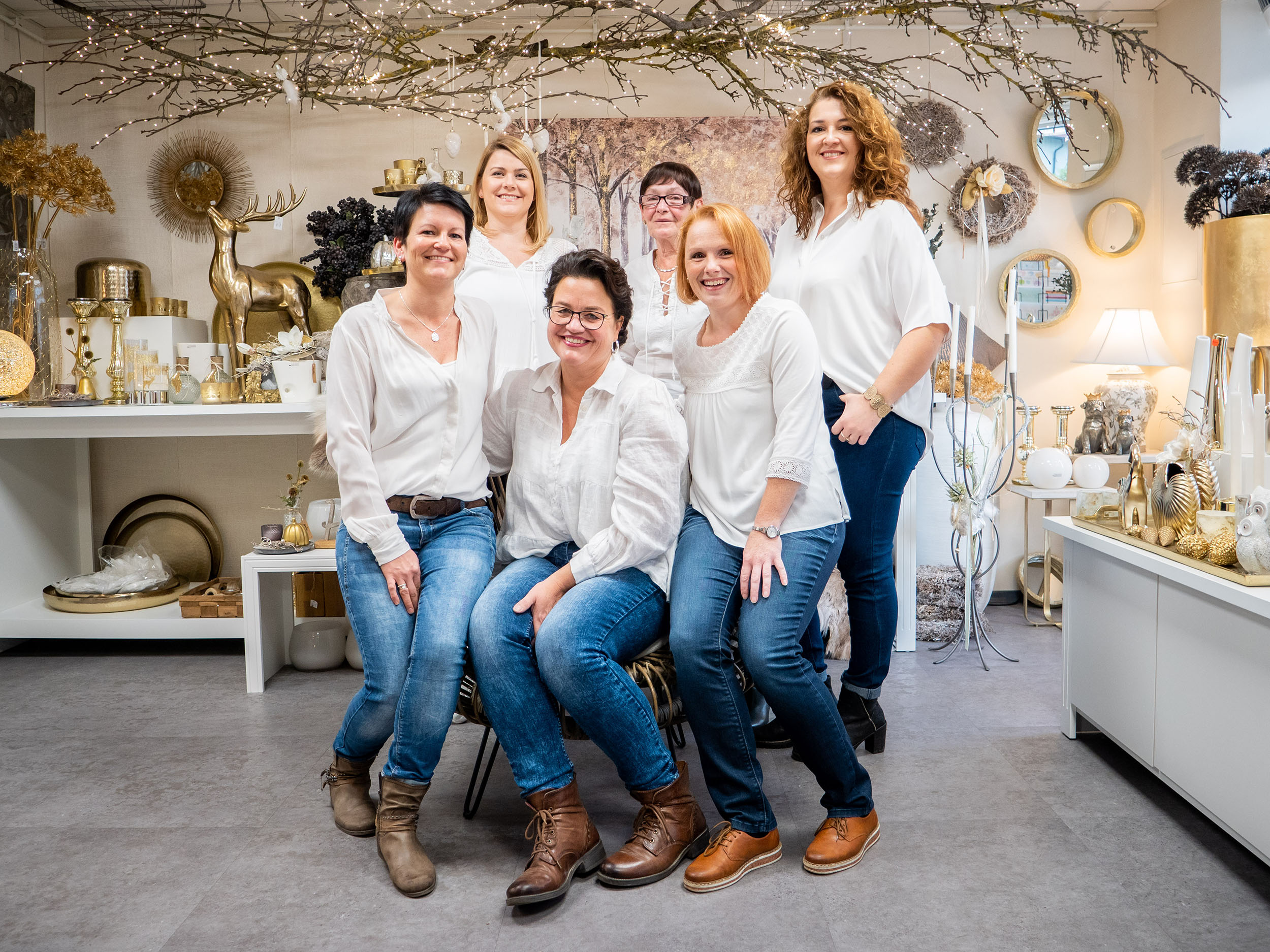 Liesl Ströbl und das Team im Haus schöner Dinge