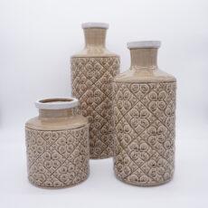 Vase Toskana beige
